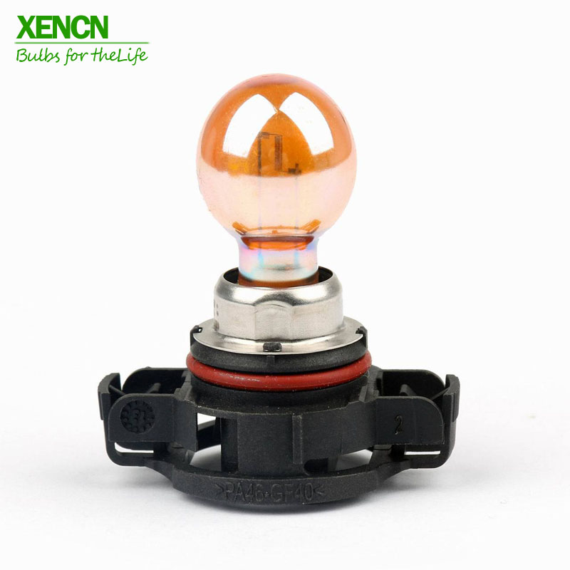 XENCN 12180SV PSY24W PG20-4 12V 24W Silver Vision Car Front Rear Indicators Turn Signals For VW