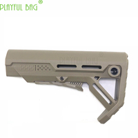 Outdoor activities CS [tactical rear support] Modification of nylon CTR core with water bullet MFT light MOD red dot KI93