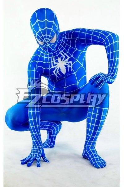 <font><b>Marvel</b></font> <font><b>Spiderman</b></font> <font><b>Blue</b></font> <font><b>Cosplay</b></font> <font><b>Costume</b></font> E001