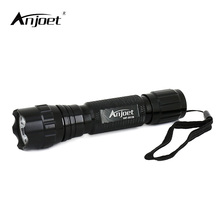 ANJOET Mini Tactical Flashlight WF-501B XML T6 LED Hunting Torch Light 1 Mode/5 Mode Tactical camping emergency lighting