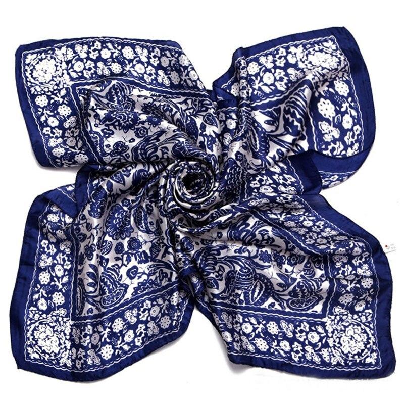 [LESIDA] Arrival 100% Pure Silk  Women Shawl,Black Vintage Ethnic Figure,Spring Autumn Size,Long Plain Scarves,Hijab Square/9071