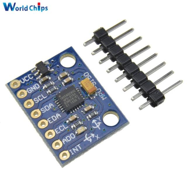 MPU 9150 module MPU-9150 9DOF 9 Axis Gyroscope Accelerometer Magnetic Field  Replace MPU-