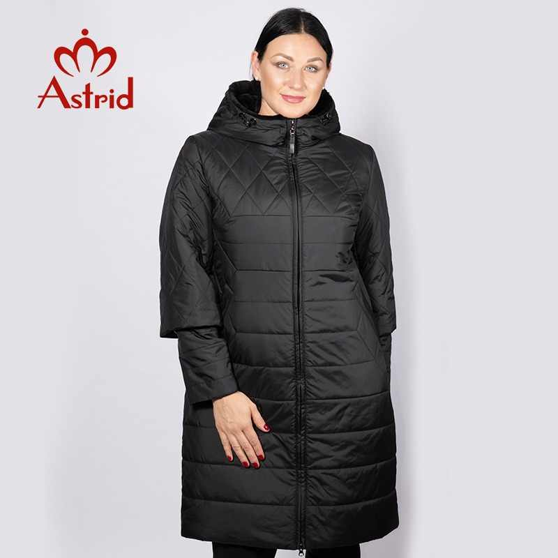 New winter jackets coat women autumn long parka warm hooded high quality comfortable long coats women plus sizes  astrid AM-5037
