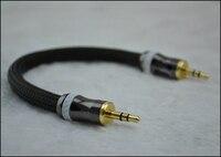 Viborg Audio 15cm OCC Silver Plated 3 5MM Male Plug To 3 5MM Male Plug Headphone