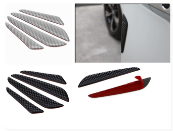 Auto parts carbon fiber sticker bumper door side bumper strip for BMW M8 M550i M550d M4 M3 M240i M140i 530i 128i image