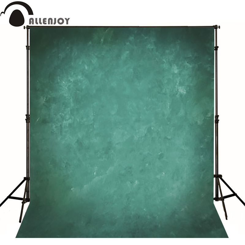 Allenjoy Thin Vinyl cloth photography Backdrop green Pure Color Photography Background For Studio Photo Props MH-065