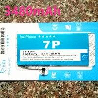 Apple Için 3480 mAh Orijinal DLL iPhone7 artı polimer Yedek Pil IPhone 7 Için artı 5.5 inç Cep Telefonu Meyilli + aracı