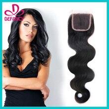 Brazilian Human Hair Lace Closure Body Wave Human Hair Closure Top Quality Brazilian Virgin Free Part Lace Frontal Closure