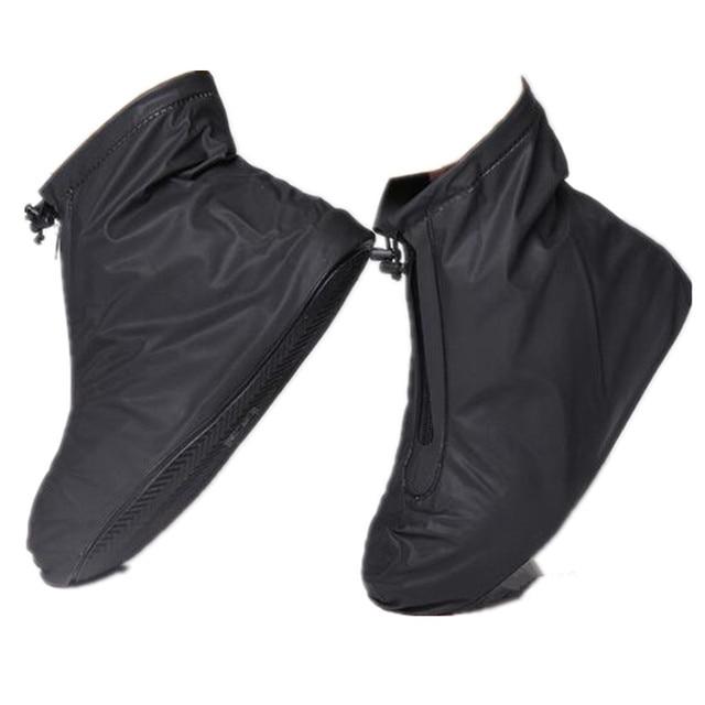 96acb217959 Homens da moda À Prova D  Água Sapatos Mulheres Sapato Chuva Cobre Anti-Slip