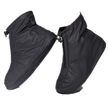 Willow Valley Men Motorcycle Rain Boot Shoe Waterproof Shoes Covers Travel Raining Day Shoes for Woman