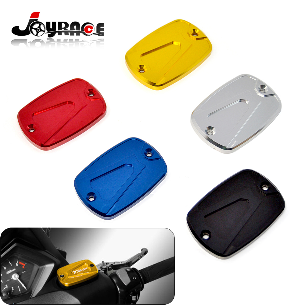 CNC Motorcycle Brake Fluid Reservoir Cap Cover For Yamaha T-max Tmax 500 530 2012 2013 2014 2015 04 05 06 07 08 09 10 11 12 13 14 new cnc short straight adjustable brake clutch lever for yamaha majesty 400 t max 500 t max 530
