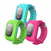 Q50 gps Смарт-часы Детские безопасный SOS вызова Расположение Finder трекер для ребенка анти потерянный монитор наручные часы Smartwatch