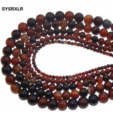 Wholesale Aaa Color Mixing Stripe Agate Natural Stone Beads For Jewelry Making Diy Bracelet Necklace 4 / 6 8 /10 /12 MM Strand