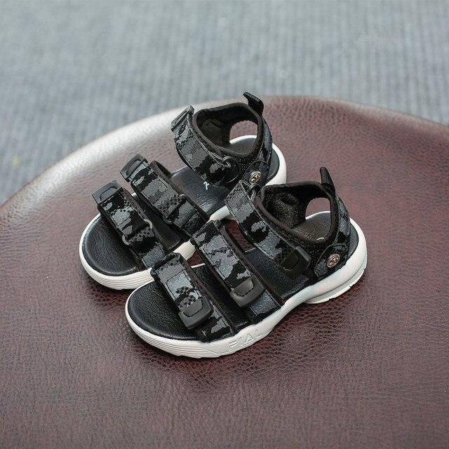 10d05a9c362e Children Shoes Boys Sandals Summer New 2018 Fashion Casual Breathable Non-slip  Girls Sports Sandals Kids Boys Beach Shoes