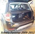 Auto Posteriore del Tronco Security Shield Ombra Cargo Copertura Per Subaru Forester 2009 2010 2011 2012 (Nero, beige)