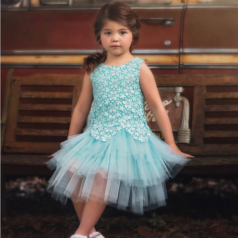 Minit/pink Flower Girls lace Dresses For Wedding toddler Girl Birthday Party Dress Tulle Pageant Dress high quality kids clothes girls lace floral criss cross back tulle flower girl dress princess dresses elegant bowknot wedding birthday party vestido dress