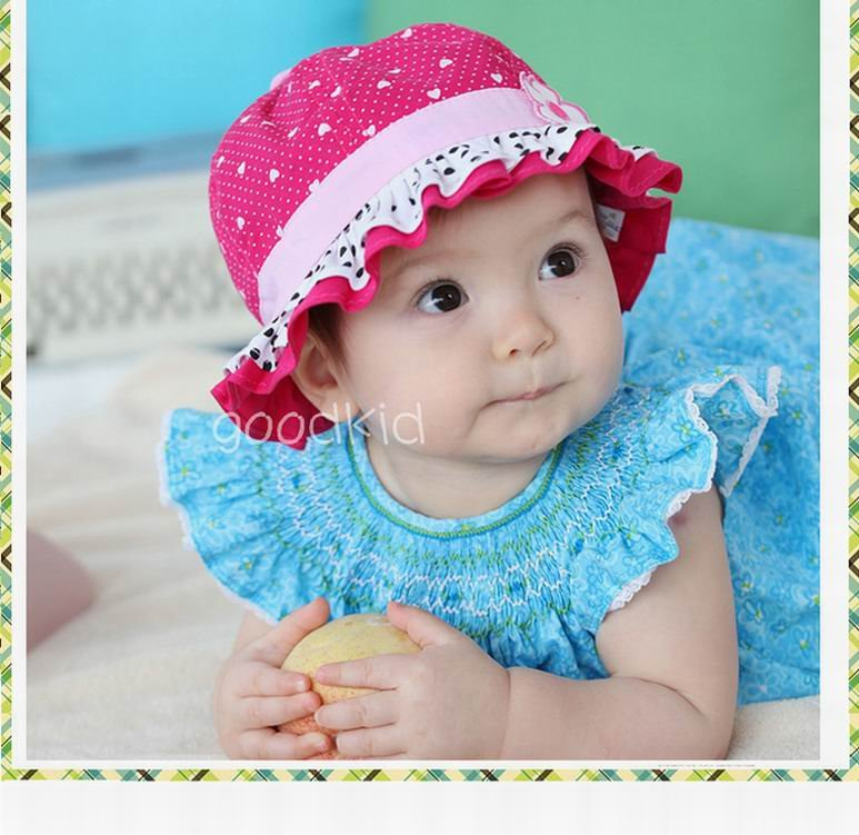 wholesale 10 piece lot summer Baby Cap Lovely girl s gift baby hats  Children caps fashion infant sunhat kid s hat on Aliexpress.com  b768e7ad602