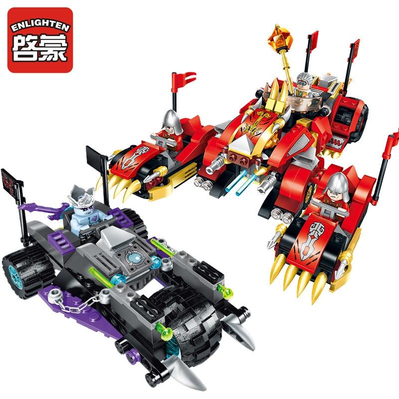 Enlighten Models Building toy Compatible with Lego E2214 478pcs Gods Blocks Toys Hobbies For Boys Girls Model Building Kits