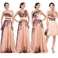 Fashion Women Long Dress Cocktail Party Formal Wedding Prom Gown Dress