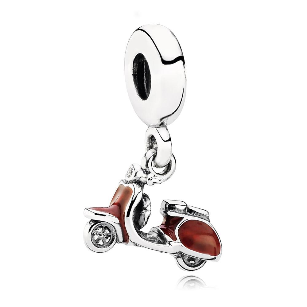 Offen Chamss 2019 Neue Original 925 Silber Rot Roller Anhänger Charme Silber Kette Armband Diy Anhänger Frau Klassische Geschenk 791140en42 Schmuck & Zubehör