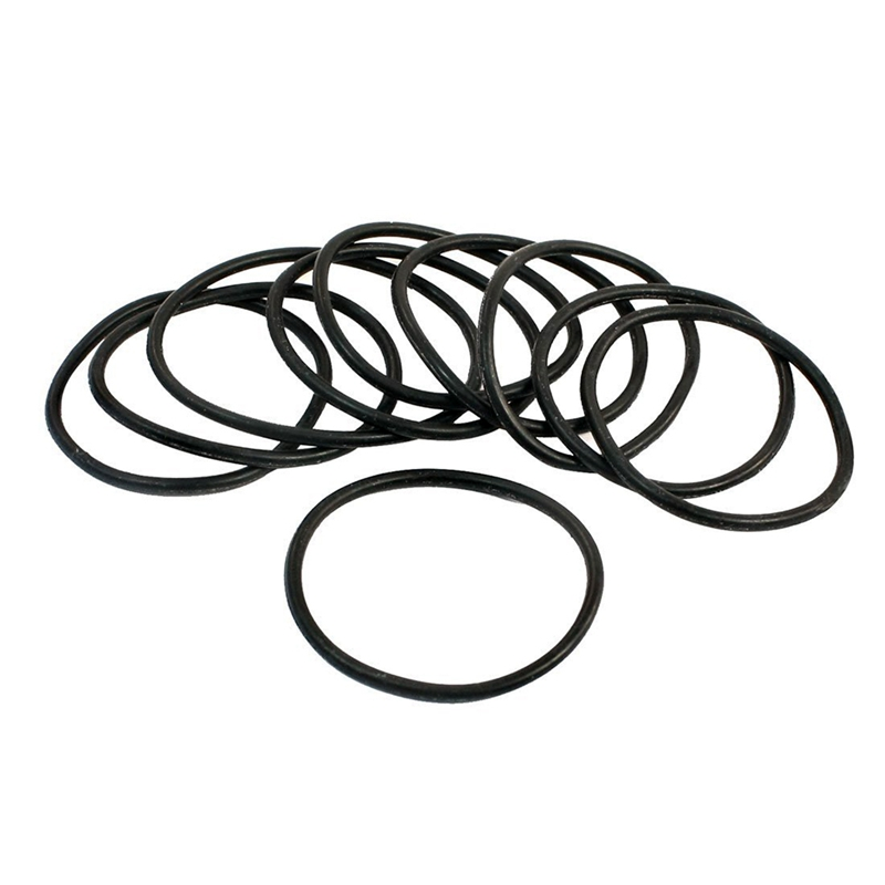 Approximately 10 pieces Black Rubber Oil Seal O-Ring Seal Washer 34 x 30 x 2 mm ...