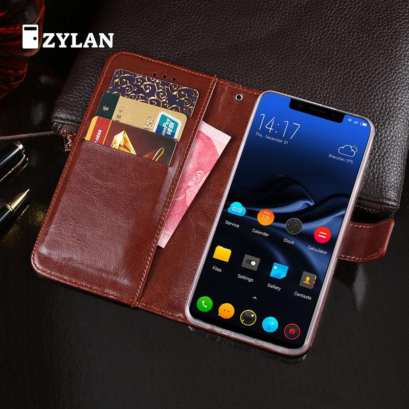 ZYLAN Luxury Wallet Case for Elephone A4 Pro Leather Exclusive Slip-resistant Flip Ultra-thin Phone Cover Book Case & GIFT