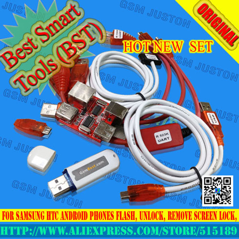 BST dongle for HTC SAMSUNG unlock screen S3 S5 9300 9500 lock repair IMEI read NVM