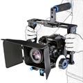 Câmera dslr rig shoulder estabilizador filme filme apoio kit follow focus matte box para canon nikon sony filmadora