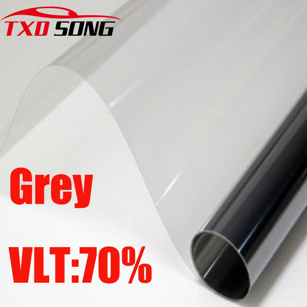 Car-Window-Tint-Film Auto-House Grey Solar-Protection Glass VLT 50x300cm 70%Roll Front-Side
