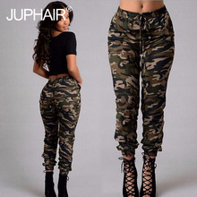 Pencil Plus Sizes Pants Cargo Jeans for Womens High Waist Camouflage Army Girls Leggings Runners printed Trousers Casual