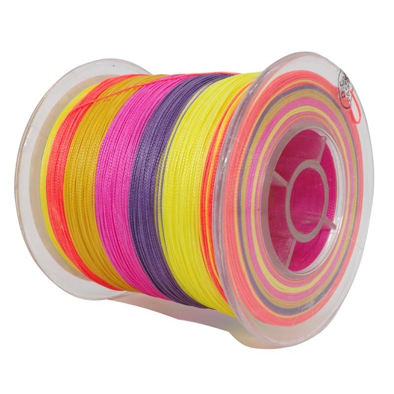 Леска цветная 500м фото