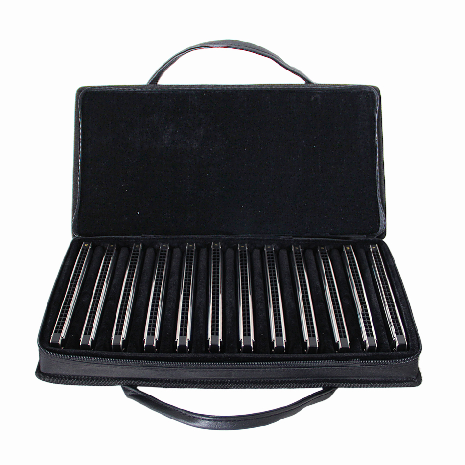 EASTTOP Tremolo Harmonica 12 pieces/set A A# B C C# D D# E F F# G G# 24 HOLES ALL Tunes harmoica set стоимость