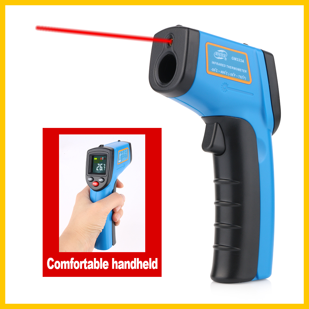 Digital Thermal Imaging Camera With Comfortable Handheld And Color Display 7