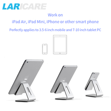 UP 4P-4S aluminium tablet stand holder with sliver color for variety-size tablets and phones,universal tablet stand