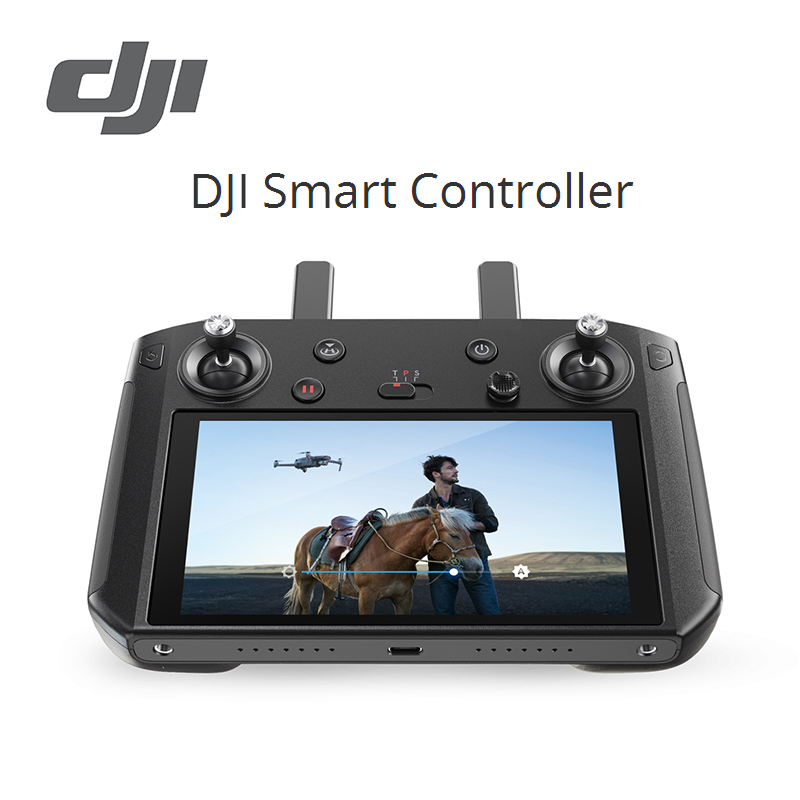 DJI Smart Controller 5.5 inch 1080p OcuSync 2.0 Customized Android system Supports Third party Apps compatible with DJI Mavic 2-in Drone Accessories Kits from Consumer Electronics    1