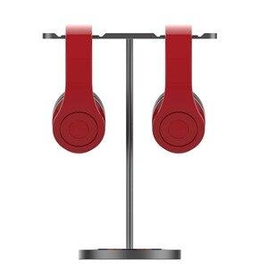 Image 2 - Jinserta 알루미늄 헤드폰 홀더 스탠드 듀얼 행거 홀더 이어폰 데스크 디스플레이 랙 브래킷 게임 헤드폰