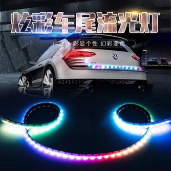 1.2M Car trunk streamer lantern LED tail box light FOR ACURA RDX MDX TLX RLX ZDK ZDX ILX RLX Car-Styling Accessories image