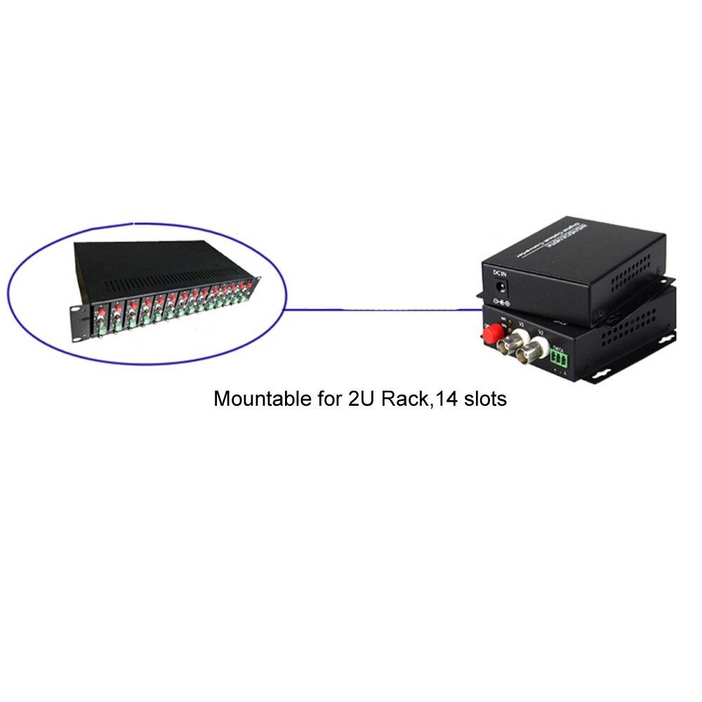 1080P HD CVI AHD TVI 2-канальны канвертар - Камунікацыйнае абсталяванне - Фота 5