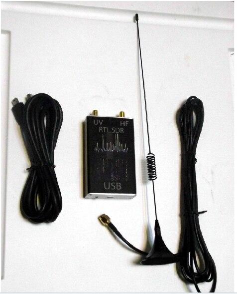 Livraison directe 100 KHz-1.7 GHz pleine bande UV HF RTL-SDR RTL. SDR récepteur Tuner USB/R820T + 8232 Radio jambon