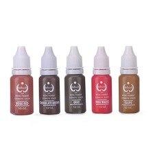 Envío Gratis 5 unids/lote 1/2 oz Botella Micropiment Biotouch Pigmento Para Maquillaje de Cejas y Maquillaje Permanente Para la belleza arte