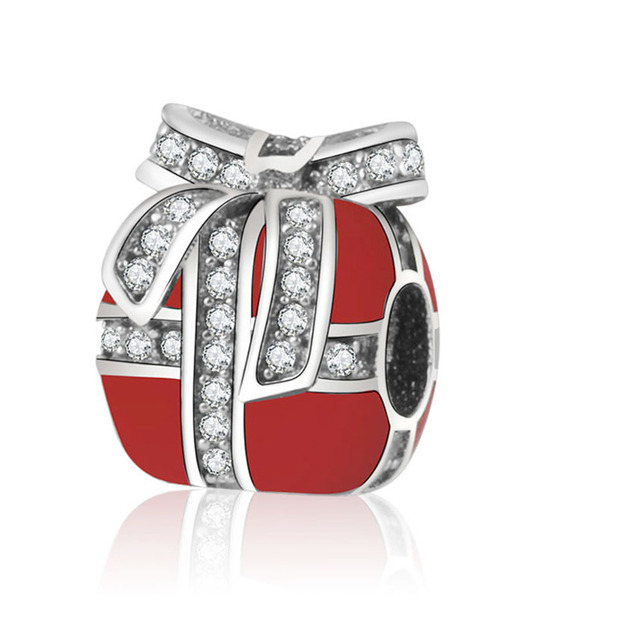 boite a bijoux pandora rouge