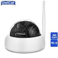 Owlcat hd 960 p 1080 p無線lanドームipカメラonvifナイトビジョンホームビデオ監視スマートネットワークcctvセキュリティカメラsdカー