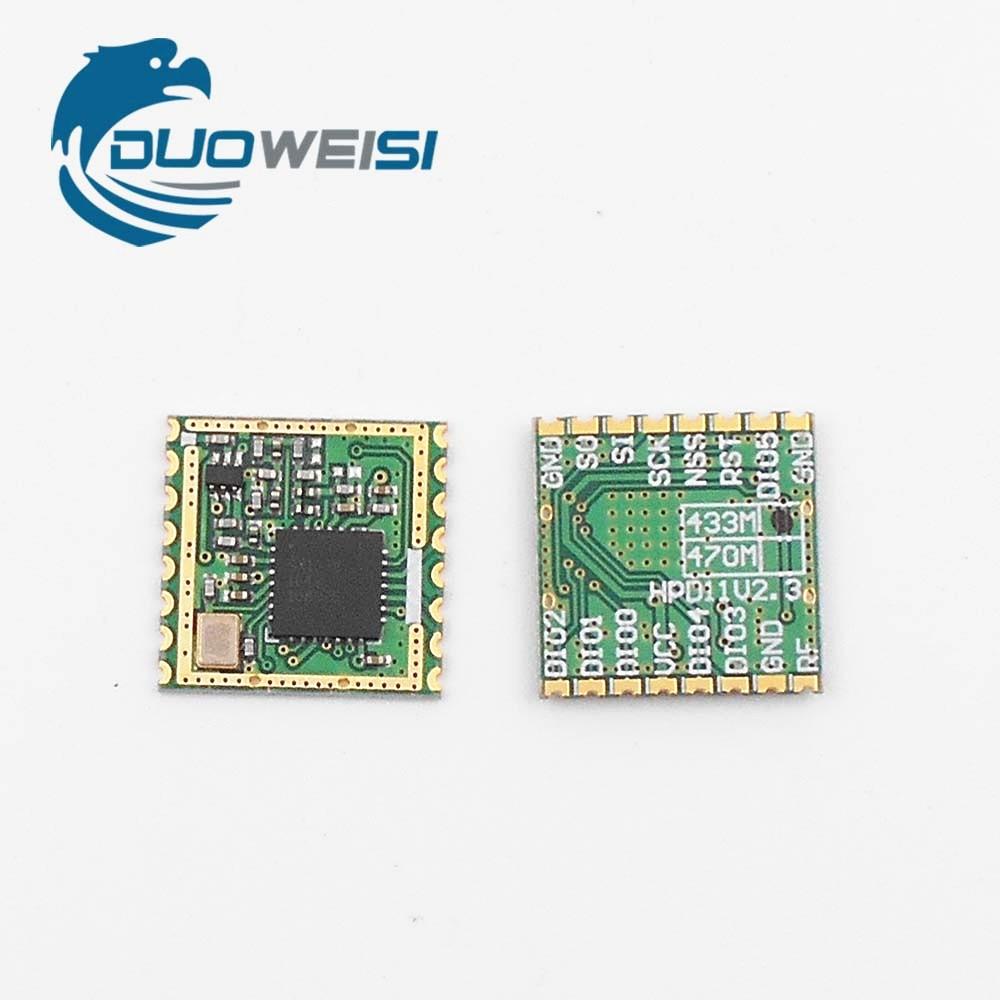 433MHzSX1278 wireless transceiver module LoRa wireless meter reading energy monitoring alarm rfm96 rfm96w lora sx1276 wireless transceiver module 20dbm 3km genuine 433mhz