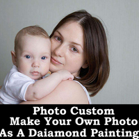Photo Custom 3D Diy Diamond Painting Round Square Make Your Own Photo As A Diamond Embroidery