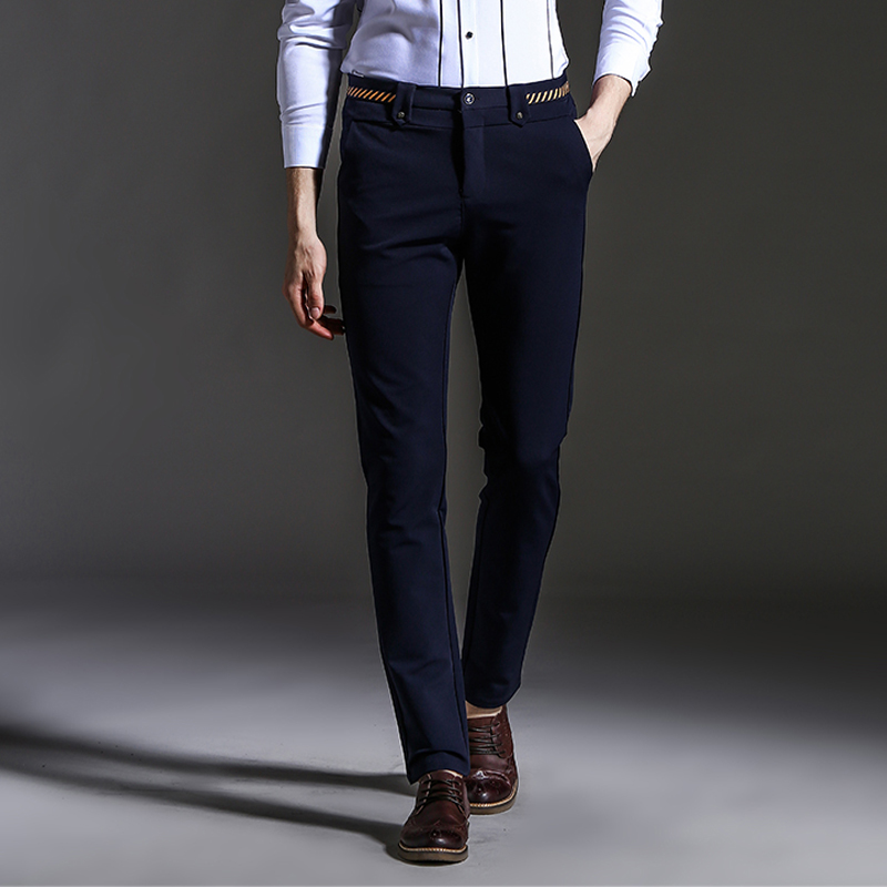 Online Get Cheap Fitted Dress Pants for Men -Aliexpress.com ...