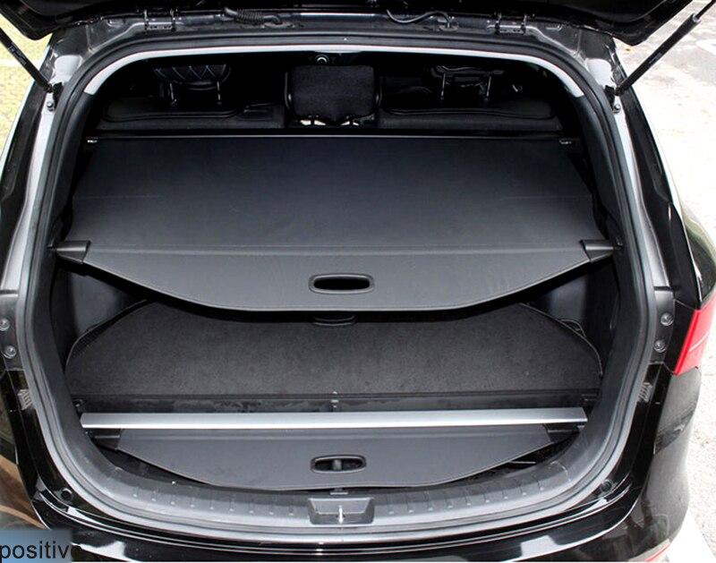 Rear Trunk Security Shield Cargo Cover Parcel Shelf Black