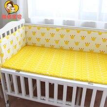 【Весна и лето 】 бампер для кровати Детские хлопковые комплекты