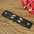 304 Stainless Steel Collar Stays Gifts For BF Business Man Son Shirt Bone Stiffeners Inserts + Sheep Leather Bag 2.5""