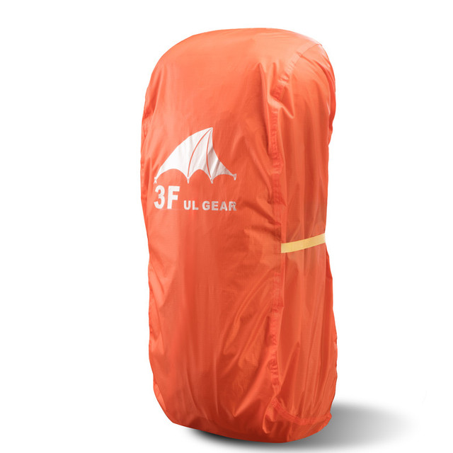 3F UL GEAR Lightweight Bag  Waterproof Rain Cover For Backpack Camping Hiking Cycling School Backpack Luggage Bags Dust Cover