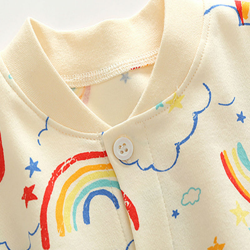 Spring Autumn Baby Rompers Cute Cartoon watermelon Infant Girl Boy Jumpers Kids Baby Outfits Clothes bebes baby girls clothes